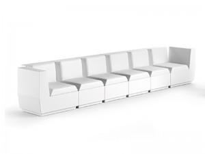 Plust Big Cut outdoor sofa composition BIGCUT