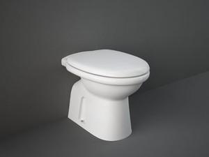 Rak Karla floor toilet with toilet seat KAWC00002+KASC00004