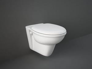 Rak Karla wall toilet with toilet seat KAWC00003+KASC00004
