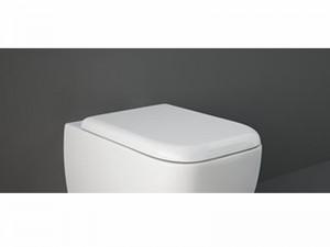 Rak Metropolitan simple toilet seat MESC00002