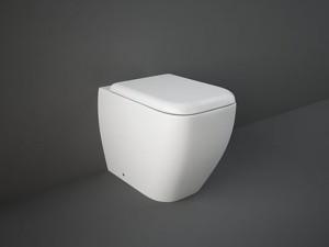 Rak Metropolitan floor toilet with toilet seat MEWC00001