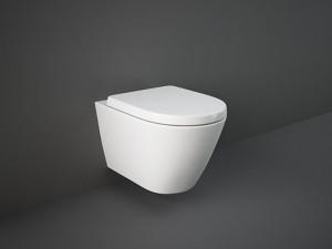 Rak Resort wall hidden fixings rimless toilet with toilet seat RST23AWHA