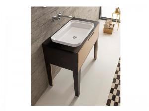 Scarabeo Mizu built-in sink 9008