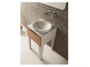 Scarabeo Mizu lavabo da incasso 9002