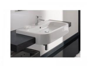 Scarabeo Next 80D semi built-in sink 8047D80