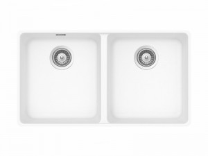 Schock Alive N200C kitchen sink with double basin ALIN200CA