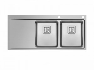 Schock Domus D200 kitchen sink with double basin DOMD200