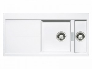 Schock Horizont D150 kitchen sink with double basin HOND150A