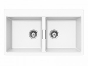 Schock Horizont N200 kitchen sink with double basin HONN200A