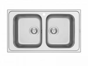 Schock Master N200 kitchen sink with double basin MASTN200