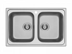 Schock Master N200S kitchen sink with double basin MASTN200S