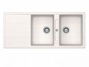 Schock Signus D200E kitchen sink with double basin SIGD200EA