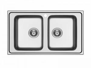 Schock Wave N200 kitchen sink with double basin WAVN200