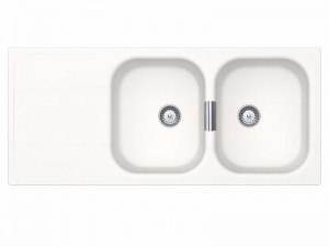 Schock Wembley D200 kitchen sink with double basin WEMD200A
