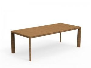Talenti Cleo Teak dining table CLETPOK02