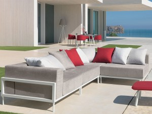 Talenti Cleo Alu outdoor sofa composition