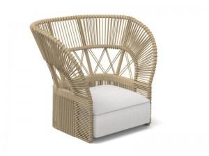 Talenti Cliff Decò lounge armchair CLIDCPLON-C