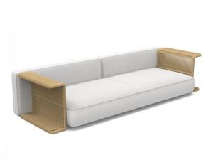 Talenti Cliff Decò fabric sofà CLIDCDIV3-T