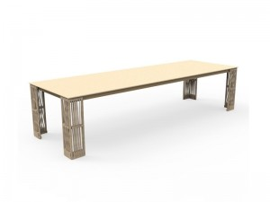 Talenti Cliff Decò dining table CLITP240