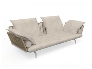 Talenti Cruise Alu fabric sofa CRUALUDIV