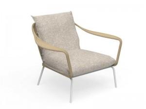 Talenti Cruise Alu fabric living armchair seat CRUALUPL