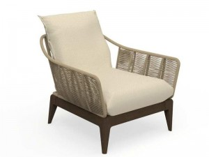 Talenti Cruise Teak fabric armchair CRULPL