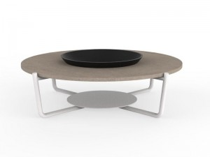 Talenti Domino round coffee table DOMTCT