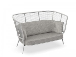 Talenti Moon Alu outdoor love seat sofa MONALULOVB