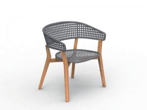 Talenti Moon Teak outdoor chair MONTEKPPZ