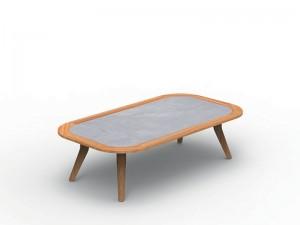 Talenti Moon Teak outdoor coffee table MONTEKTC