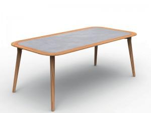 Talenti Moon Teak outdoor table MONTEKTP200