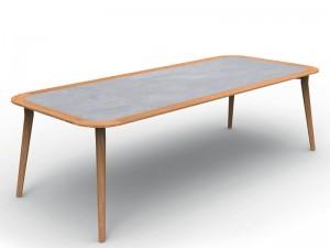 Talenti Moon Teak outdoor table MONTEKTP260