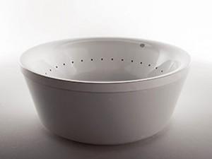 Zucchetti Kos Geo hydromassaging freestanding hot tub