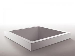 Zucchetti Kos Grande Quadra hydromassaging drop in hot tub