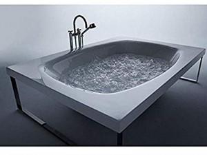 Zucchetti Kos Kaos 2 hydromassaging freestanding hot tub