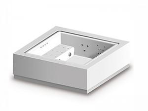 Zucchetti Kos Quadrat Standard freestanding hydromassage spa