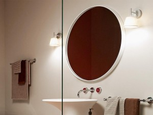 Zucchetti Kos Morphing mirror with frame 8MP910BI