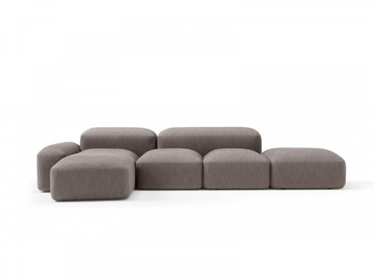 Amura Lapis fabric sectional sofa LAPIS.E019